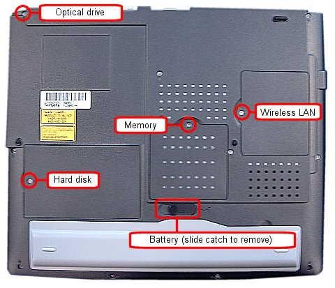 ukt support advent 7040 laptop