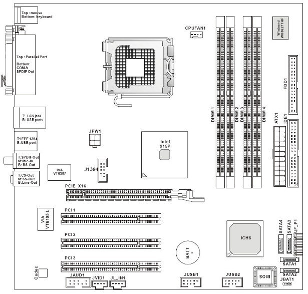 ukt support advent t9204 pc rh uktsupport co uk atx motherboard diagram with labels pdf Simple Motherboard Diagram with Labels